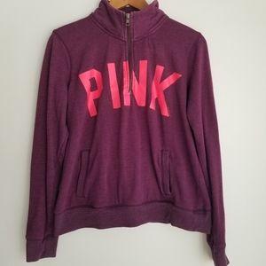 Pink by Victoria Secret quarter zip up